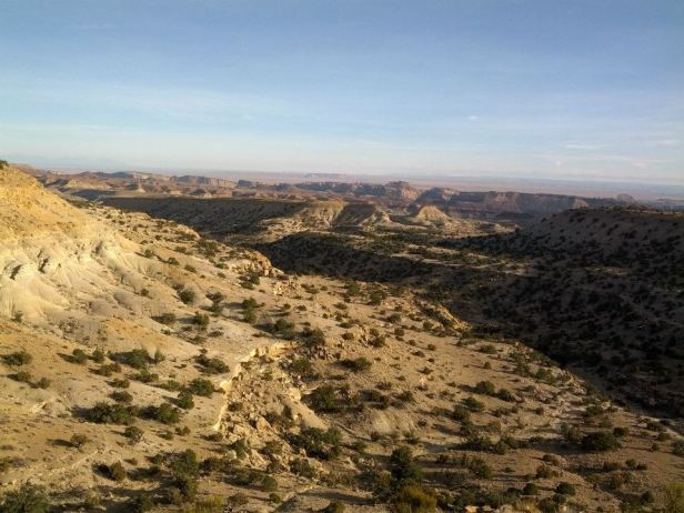San Rafael Reef viewed from Chute Canyon exit