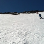East Snowfield shreddin'